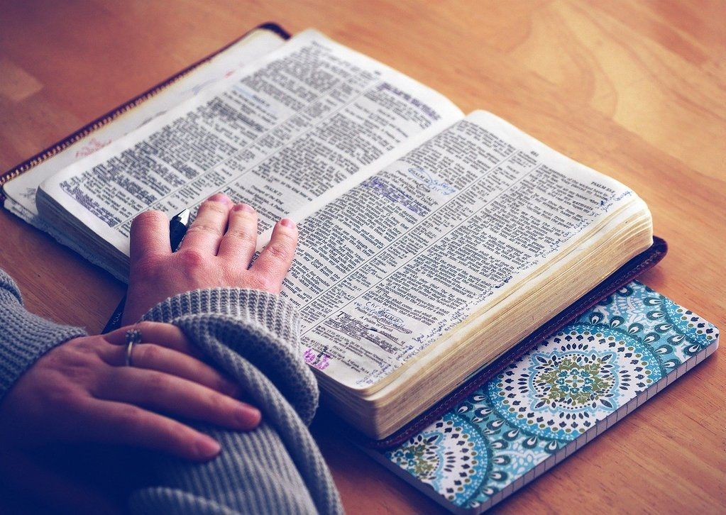 read the bible to feel peace